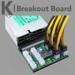 Breakout Board  HP Server Netzteile Mining Bitcoin Ethereum 1600W
