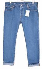 Levis 501 CT Slim Boyfriend Mid Rise BLUE Tapered Crop Jeans Size 14 W32 L34