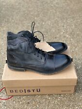 Bed Stu Dreck Chukka Boot Black Dip Dye Leather Size 11 M men's