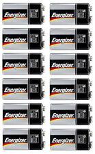 12 x Energizer 9-Volt Block Industrial Batteries