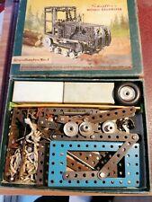 Metall Baukasten - Grundkasten Nr.1 -  von Scheffler