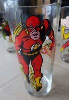 1978 The Flash Pepsi Collector Glass DC Comics Old Stock Mint Justice League OOP