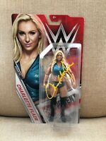 Autographed Charlotte Flair WWE 2016 Series 71 Action Figure Full Name