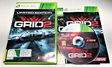 MICROSOFT XBOX 360 GAME | GRID 2 LIMITED EDITION | COMPLETE PAL