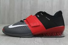 33 Nike Romaleos 3 Weightlifting Shoes Men's 11.5- 15 Red/Black/Grey 852933 600