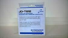 PIONEER JD-T612 CARTUCCIA PER MULTI CD DA AUTO DA 06 CD NUOVA