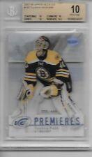 2007-08 Upper Deck Ice Premieres  #197 Tuukka Rask /99 Rookie RC BGS 10 Pop 3