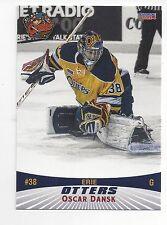 2013-14 Erie Otters (OHL) Oscar Dansk (goalie) (Chicago Wolves)