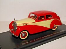 BOS BENTLEY MK VI HAROLD RADFORD SALOON 1951 1/43 RESIN BOS43485 BEST OF SHOW