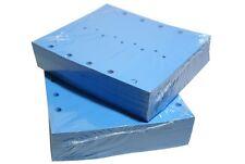 Arrow Key Tags Self-Locking Vinyl Plastic ID Self Locking Tag Blue 2000 Pack
