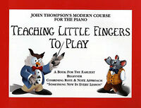 Teaching Little Fingers To Play Learn How Beginners Childrens Sheet Music Book