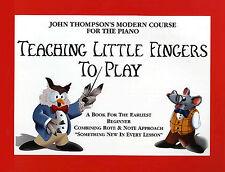 L'insegnamento le dita per giocare per imparare i principianti per Bambini spartito libro