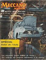 meccano magazine, n°12. 6ème année (octobre 1958)