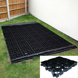TruePave Grass & Gravel Plastic Grids Paver Slab Shed Base Path Drive Car Park