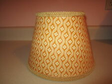 Pierre Deux Lamp Shade Chloe Gold Yellow Sage Taupe French Toile Chandelier