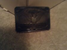 1983 Nra Leadership Award For Servie In Recruiting Silver Metal Belt Buckle