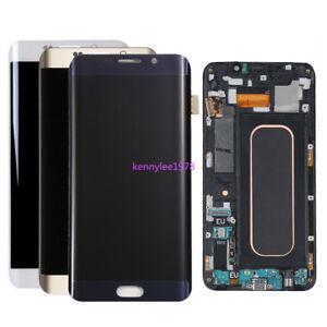 Pour samsung Galaxy s6 edge plus G928F Amoled Affichage LCD Ecran tactile+cover