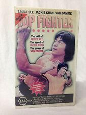 TOP FIGHTER / VHS / MARTIAL ARTS MOVIE STARS DOCUMENTARY / MEGA RARE