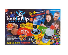 18 Piece Bottle Flip Game 54 Challenges & Game Accessories - In Stock Now!