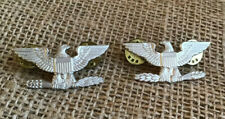 Sterling Silver Colonel Eagles Pair