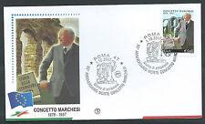 2007 ITALIA FDC FILAGRANO CONCETTO MARCHESI - FG2007-2