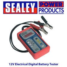 Sealey BT2101 Electrical Digital Battery Tester/Testing/Diagnostic - 12V