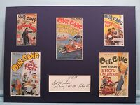 Hal Roach - Our Gang Comedies & the autograph of Sidney Kibrick as Woim