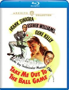 Take Me Out to the Ball Game (Frank Sinatra Gene Kelly) New Blu-ray