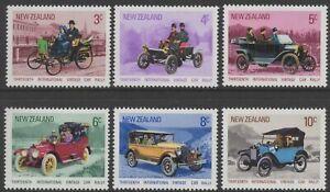 New Zealand 1972 Vintage Cars set of 6 Mint Unhinged