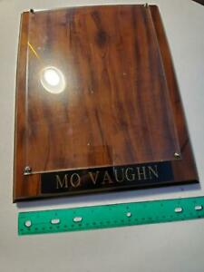 "10"" x 13"" Blank Mo Vaughn Wood Plaque"