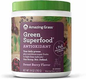 Amazing Grass Green Superfood Antioxidant Super Greens Powder with Spirulina Eld