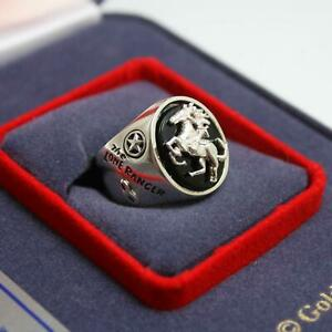 Vintage Limited Edition The Lone Ranger Sterling Silver Ring by Marshall Corp.