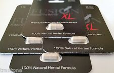 4 x Fusion XL Testosterone Booster Male Enhancement Pill Hard Erection