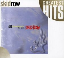 SKID ROW BEST OF FORTY SEASONS GLAM HEAVY METAL COMPILATION MUSIC CD NEW