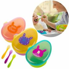 Supplement Anti Spill Baby Food Storage Bowls Feeding Container Snacks Holder