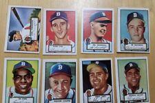 1952 Topps reprint Boston Braves team set 20 cards Mathews Spahn Jethro Cooper