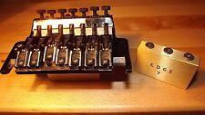 Ibanez edge 7 string Floyd Rose big brass block bridge upgrade Universe guitar