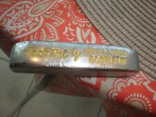 "New listing John Letters Scotland ""Jack Pot"" Golf Putter 35.5"" All Original Leather Grip"
