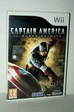 CAPTAIN AMERICA IL SUPER SOLDATO GIOCO USATO NINTENDO Wii ED ITA PAL FR1 48519