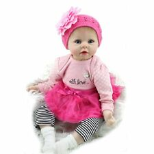 "Kaydora 22"" Reborn Baby Dolls Handmade Vinyl Silicone Newborn Babies Xmas Gifts"