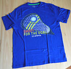 Chaps Boys Printed T Shirt - BLUE - SIZE - 10-12 YEARS - NEW