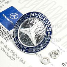 ORIGINALE Mercedes EMBLEMA LOGO GRIGLIA ANTERIORE w126 W 126