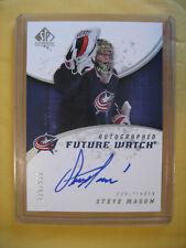 2008-09 Upper Deck SP Authentic Future Watch Steve Mason RC Rookie #209 /999