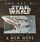 ART OF STAR WARS A NEW HOPE EPISODE IV Entire Script Concept Art paperback 1994