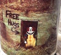 Pennywise The Clown Free Hugs Stephen Kings It Birthday Horror Movie Gift Mug