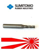 Sumitomo VHM Solid Carbide End Mill 4mm Shank Dia 6MM TiAIN Coat 4-Flute  No18