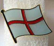 England / English - Flag Pin Badge  High Quality Gloss Enamel