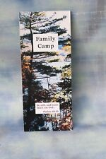 Family Camps 1998 Brochure Application, Silver Bay New York NOS
