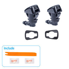 2Pcs Windshield Washer Nozzle Wiper Spray Jet for Jeep Grand Cherokee 68260443AA