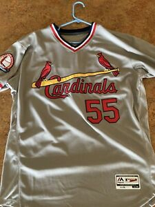 USA St Louis Cardinals Jersey Size 44 L MLB Stephen Piscotty Amazing Quality